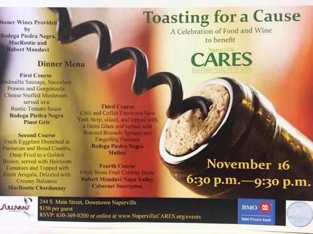 Toasting for a Cause