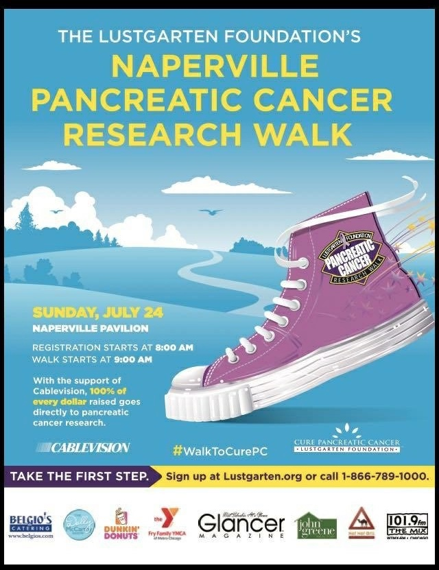 Pancreatic Cancer Research Walk | July 24th, 2016